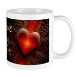 I Love My Heart Mug