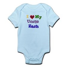 I LOVE MY UNCLE ZACH Infant Bodysuit
