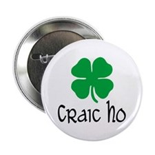 "Craic Ho 2.25"" Button (10 pack)"