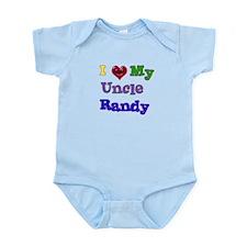 I LOVE MY UNCLE RANDY Infant Bodysuit