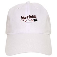 Father Of The Bride (hearts) Baseball Cap