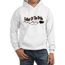 Father Of The Bride (hearts) Hoodie