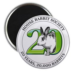 "20th Anniversary 2.25"" Magnet (10 pack)"