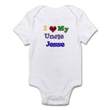 I LOVE MY UNCLE JESSE Infant Bodysuit