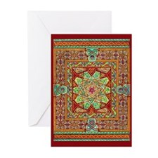 Carpet Page Greeting Cards (Pk of 10)