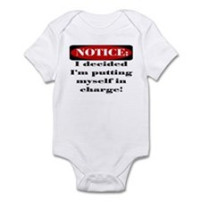 I'm in charge Infant Bodysuit