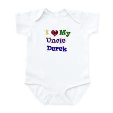 I LOVE MY UNCLE DEREK Infant Bodysuit