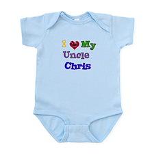 I LOVE MY UNCLE CHRIS Infant Bodysuit
