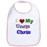 I LOVE MY UNCLE CHRIS Bib