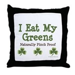 Naturally Pinch Proof Vegan Throw Pillow