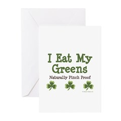 Naturally Pinch Proof Vegan Greeting Cards (Pk of