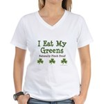 Naturally Pinch Proof Vegan Women's V-Neck T-Shirt