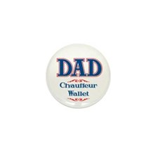 DAD Chauffeur Wallet Mini Button (100 pack)