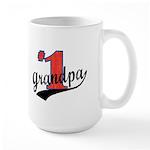#1 Grandpa Large Mug