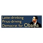 Latte Drinking Prius Driving Democrat for Obama