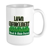 Lawn Enforcement Mug