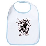 Cool Scary dragon Bib