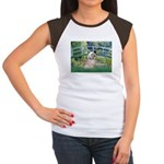 Bridge / Lhasa Apso Women's Cap Sleeve T-Shirt