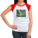 Bridge / Lhasa Apso Women's Cap Sleeve T-Shirt