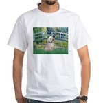 Bridge / Lhasa Apso White T-Shirt