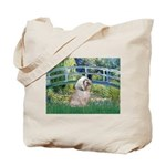 Bridge / Lhasa Apso Tote Bag