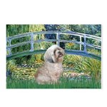 Bridge / Lhasa Apso Postcards (Package of 8)