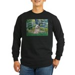 Bridge / Lhasa Apso Long Sleeve Dark T-Shirt