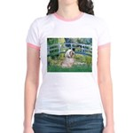 Bridge / Lhasa Apso Jr. Ringer T-Shirt