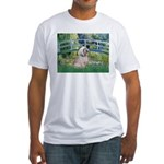 Bridge / Lhasa Apso Fitted T-Shirt