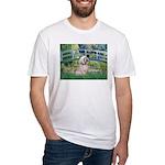 Bridge / Lhasa Apso Fitted T-Shirt