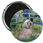 Bridge / Lhasa Apso Magnet