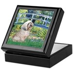 Bridge / Lhasa Apso Keepsake Box