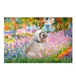 Garden / Lhasa Apso Postcards (Package of 8)