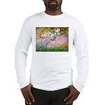 Garden / Lhasa Apso Long Sleeve T-Shirt