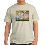 Garden / Lhasa Apso Light T-Shirt