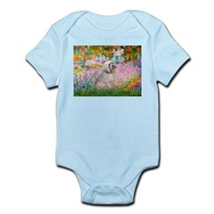 Garden / Lhasa Apso Infant Bodysuit