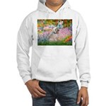 Garden / Lhasa Apso Hooded Sweatshirt