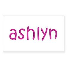 ashlyn Rectangle Decal