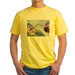 Creation / Lhasa Apso Yellow T-Shirt