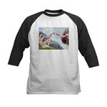 Creation / Lhasa Apso Kids Baseball Jersey