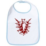 Scary dragon Bib