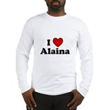 I Heart Alaina Long Sleeve T-Shirt