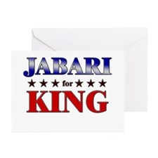 JABARI for king Greeting Cards (Pk of 20)