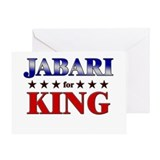 JABARI for king Greeting Card