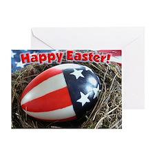 Patriotic Happy Easter Card