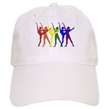 Rainbow of Dancers Baseball Cap