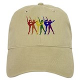 Rainbow of Dancers Cap
