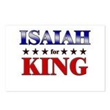 ISAIAH for king Postcards (Package of 8)