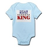 ISAI for king Infant Bodysuit