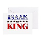 ISAAK for king Greeting Cards (Pk of 10)